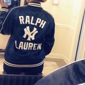 NWT New York Yankees Ralph Lauren Polo bomber
